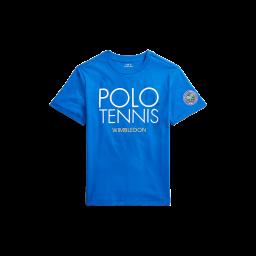 Polo Ralph Lauren Kids Polo Tennis T-Shirt - Blue