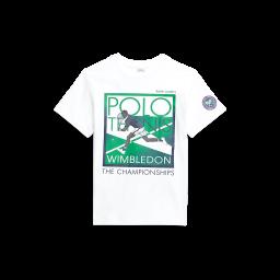 Polo Ralph Lauren Kids Cotton Graphic Tee - White
