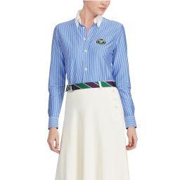 Polo Ralph Lauren Ladies' Umpire Striped Shirt - Blue