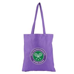 Logo Shopper Bag - Pansy