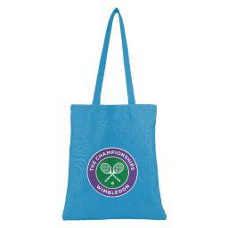 Logo Shopper Bag - Blue Aster