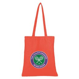 Logo Shopper Bag - Cherry Tomato