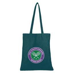 Logo Shopper Bag - Deep Green