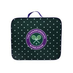 Tennis Ball Polka-dot Patterned Seat Cushion - Green