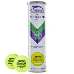 Championships 2021 Tennis Balls - 4 Ball White & Gold Tin
