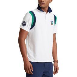 Polo Ralph Lauren Men's Custom Slim Terry Polo Shirt