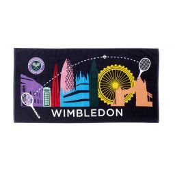Wimbledon Beach Towel London Icons
