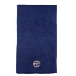 Wimbledon Hand Towel Dark Blue
