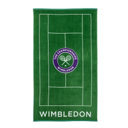 Wimbledon Giant Beach Towel Tennis Court