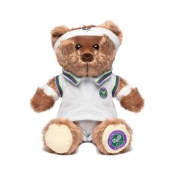 Tennis Player Teddy Bear - Beige