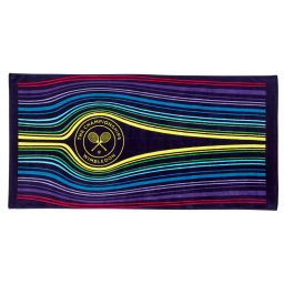 Wimbledon Volley Beach Towel - Multi