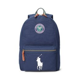 Polo Ralph Lauren Canvas Backpack - Navy