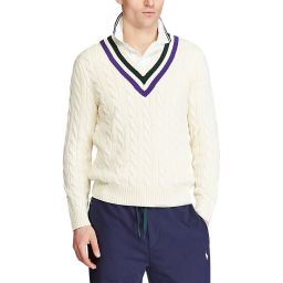 Polo Ralph Lauren Men's Cotton Cricket Sweater - Cream