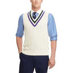 Polo Ralph Lauren Men's Cotton Cricket Vest - Cream