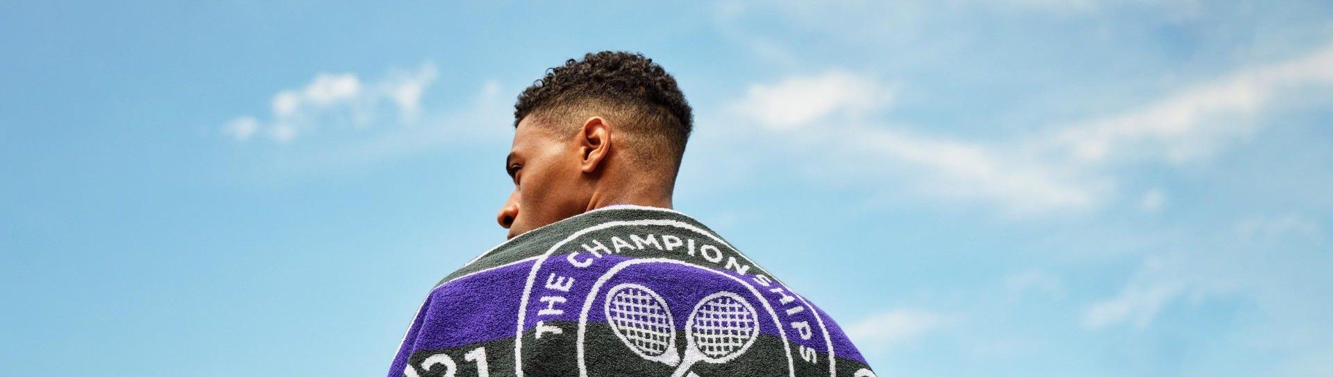 Wimbledon Active Sportswear Bucket Hat - White